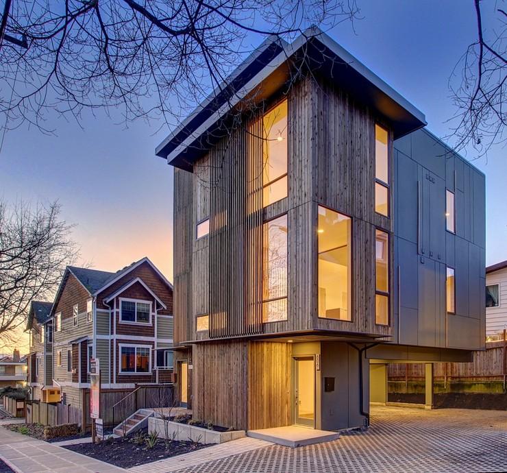 """""""El proyectos de arquitectura Ballard Aperture House. Uno de los mejores proyectos de aqrutectura sostenible."""" Proyectos de Arquitectura: Ballard Aperture House 12"""