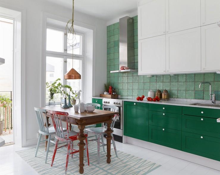 Decoración de Interiores: 3 cocinas frescas y dulces para tomar nota ...