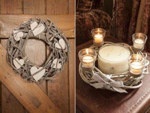 """""""3 Ideas sencillas para decorar tu casa en navidad con encantadores adornos navideños rústicos.""""  3 Ideas sencillas para decorar tu casa en navidad 310 293x220"""