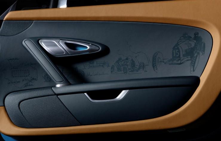 """La automotriz francesa Bugatti nos presenta el tercer modelo en su exclusiva serie Les Légendes de Bugatti."" Bugatti Veyron Meo Costantini, el tercer modelo de la serie Les Légendes de Bugatti 51"