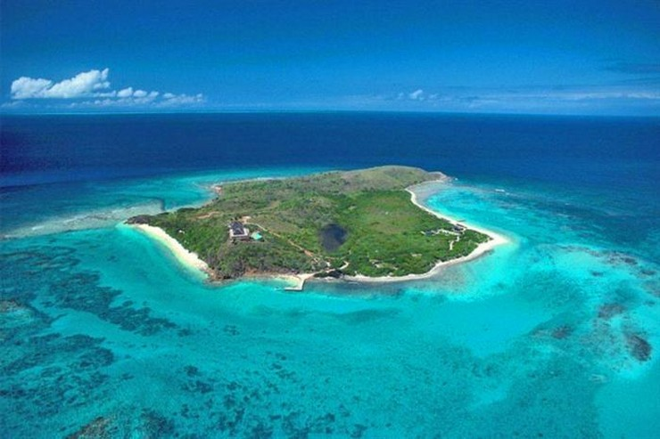 """""""Necker, paradisíaca isla privada de Sir Richard Branson, está ubicada en las Islas Vírgenes Británicas."""" Necker Island Viajes de Lujo: Necker Island, un paraíso privado Isla privada Necker Island1"""