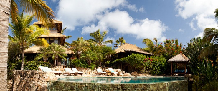 """""""Necker, paradisíaca isla privada de Sir Richard Branson, está ubicada en las Islas Vírgenes Británicas."""" Necker Island Viajes de Lujo: Necker Island, un paraíso privado Isla privada Necker Island7"""