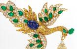 Walska Briolette Diamond Brooch, exclusiva pieza joyera de subasta exclusiva pieza joyera 156x100