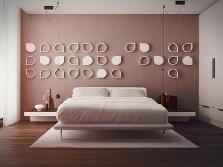 """""""Las paredes no sólo son funcionales, sino que también son una parte integrante de la decoración de interiores.""""  Cómo Decorar las Paredes del Dormitorio Principal 1"""