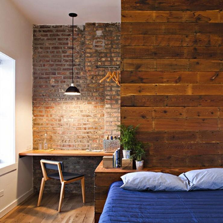 """""""Las paredes no sólo son funcionales, sino que también son una parte integrante de la decoración de interiores.""""  Cómo Decorar las Paredes del Dormitorio Principal 10"""