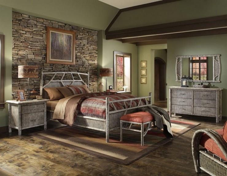 """""""Las paredes no sólo son funcionales, sino que también son una parte integrante de la decoración de interiores.""""  Cómo Decorar las Paredes del Dormitorio Principal 11"""