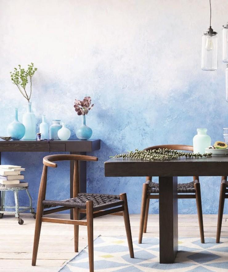 """""""Una nueva capa de pintura puede transformar cualquier habitación y más aún si se emplea una técnica tan novedosa como el efecto ombré""""  Pintar una Pared en Tonos Degradé 116"""