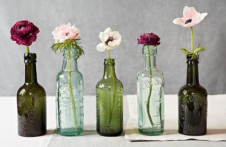Decorar con flores secas al estilo vintage decorar una casa - Bottiglie vetro ikea ...