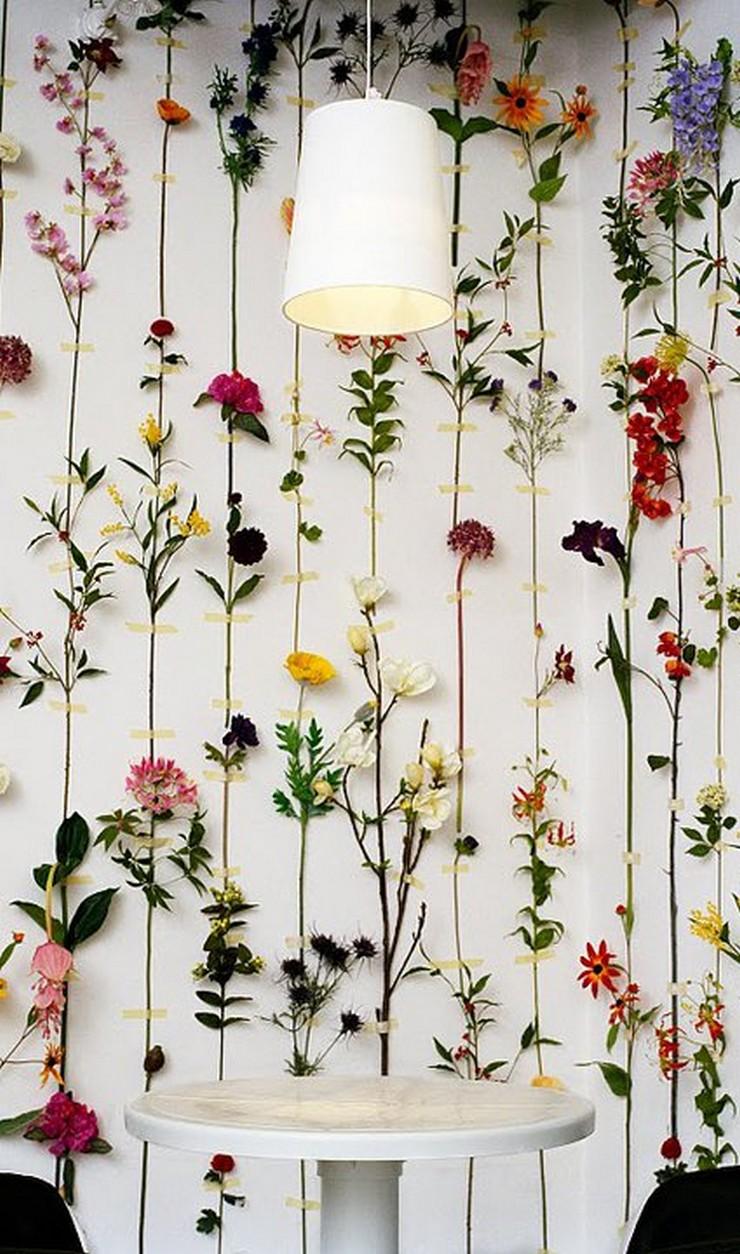 """""""Crear un ambiente vintage en el hogar o en el jardín es muy sencillo si se dispone de unas ramas y unas flores secas.""""  Decorar con Flores Secas al Estilo Vintage 167"""