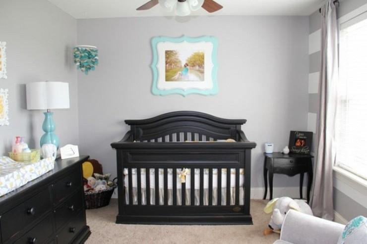 """""""No descartes el negro como color para los muebles de un dormitorio infantil"""""""
