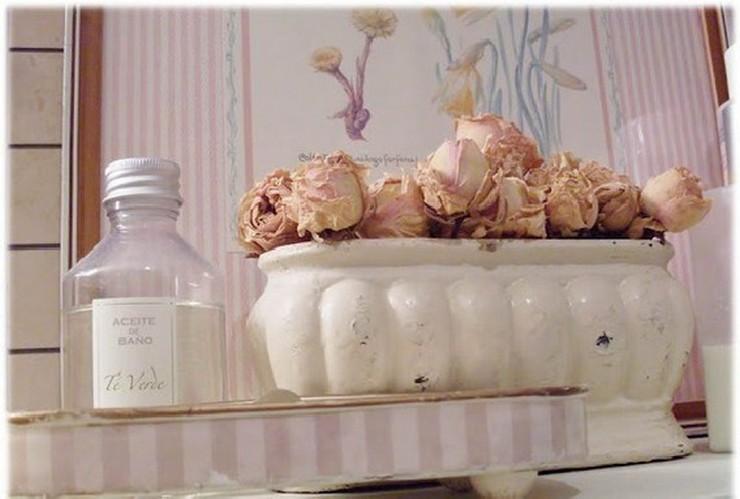 """""""Crear un ambiente vintage en el hogar o en el jardín es muy sencillo si se dispone de unas ramas y unas flores secas.""""  Decorar con Flores Secas al Estilo Vintage 173"""