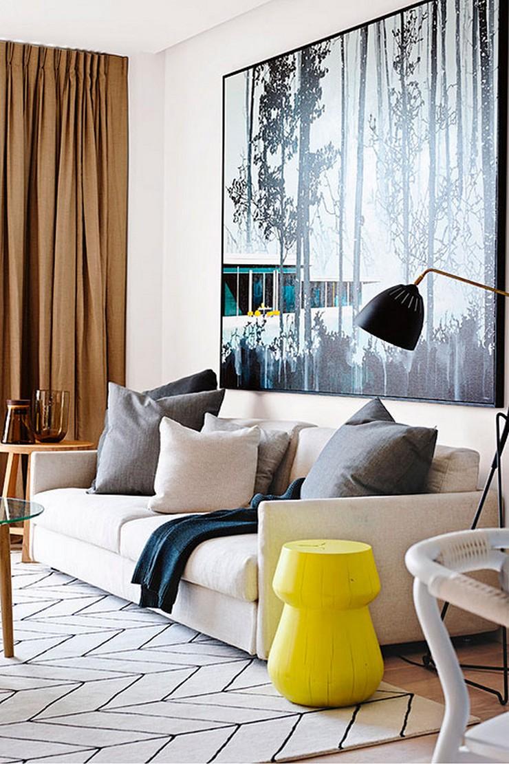 Los cuadros grandes por su lado tambi n pueden conseguir - Cuadros para casas modernas ...