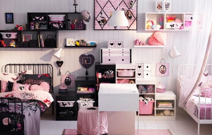 """""""No descartes el negro como color para los muebles de un dormitorio infantil""""  Muebles Negros para el Dormitorio Infantil 191"""