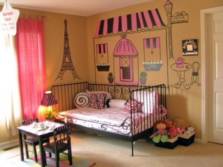 """""""No descartes el negro como color para los muebles de un dormitorio infantil""""  Muebles Negros para el Dormitorio Infantil 243"""