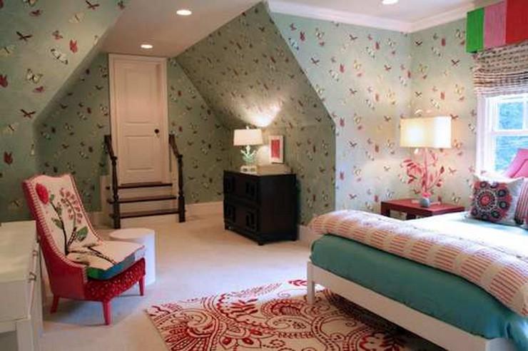"""""""Las paredes no sólo son funcionales, sino que también son una parte integrante de la decoración de interiores.""""  Cómo Decorar las Paredes del Dormitorio Principal 311"""