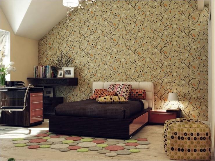 """""""Las paredes no sólo son funcionales, sino que también son una parte integrante de la decoración de interiores.""""  Cómo Decorar las Paredes del Dormitorio Principal 371"""
