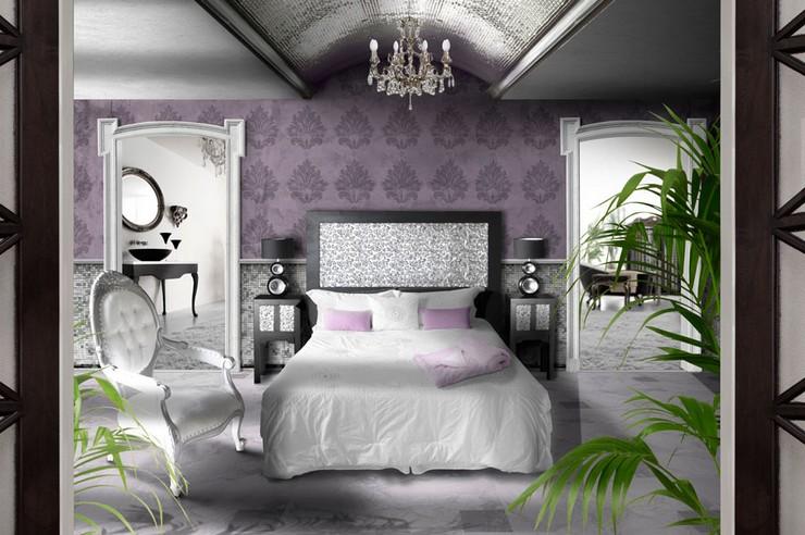 """""""Las paredes no sólo son funcionales, sino que también son una parte integrante de la decoración de interiores.""""  Cómo Decorar las Paredes del Dormitorio Principal 38 vintage colores Feng Shui"""