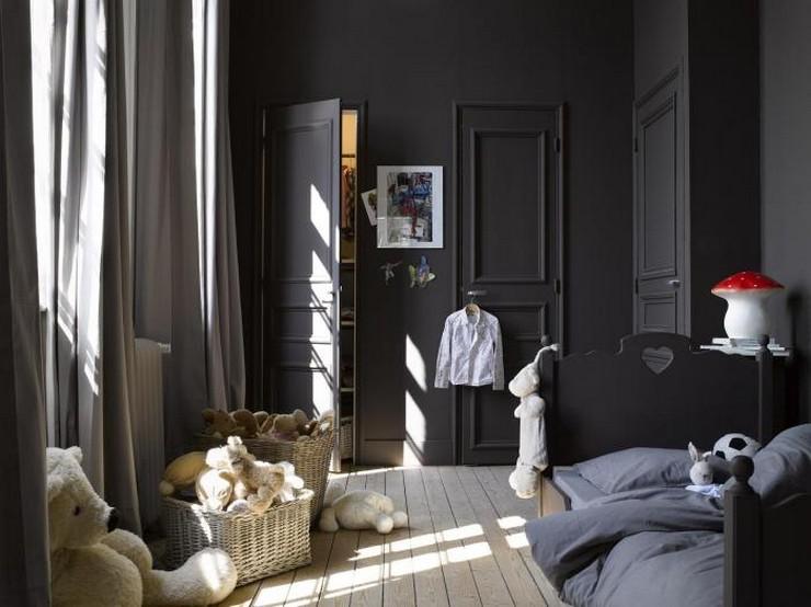 """""""No descartes el negro como color para los muebles de un dormitorio infantil""""  Muebles Negros para el Dormitorio Infantil 41"""
