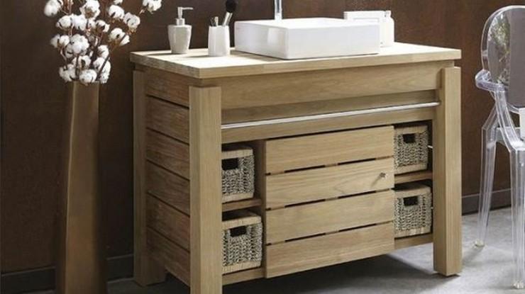 """""""El baño debe ser un espacio armónico que proporcione esa buscada sensación de bienestar"""" Ideas para Decorar el Cuarto de Baño 44 armario lavabo"""