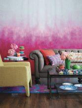 """""""Una nueva capa de pintura puede transformar cualquier habitación y más aún si se emplea una técnica tan novedosa como el efecto ombré""""  Pintar una Pared en Tonos Degradé  63 166x220"""