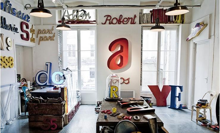 """""""Las letras son un recurso decorativo idóneo al que recurrir para transformar cualquier espacio y darle un aire nuevo""""  Letras Decorativas para todo tipo de Espacios 71"""