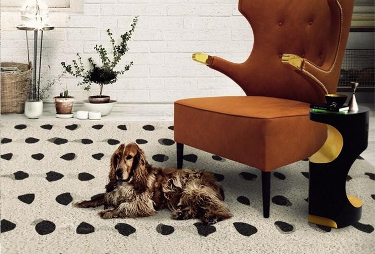 """""""Como los bolsos, zapatos y demás complementos de moda, las alfombras se antojan como un elemento indispensable en el terreno de la decoración""""  Alfombras Modernas para Decorar el Hogar 72"""