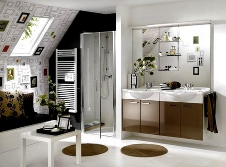 """""""El baño debe ser un espacio armónico que proporcione esa buscada sensación de bienestar""""  Ideas para Decorar el Cuarto de Baño 9 alfombras redondas"""