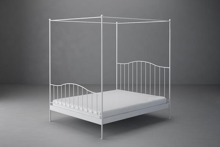 """""""Las camas de hierro de la Colección Vintage de Studio Martell.""""  Ideas para decorar: Camas vintage de hierro forjado CAMA CINCEL DOSEL2"""