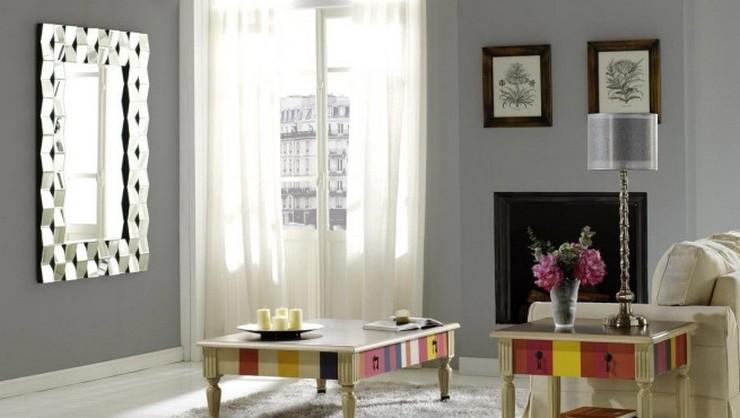 5 buenas ideas para decorar una casa de alquiler for Espejos modernos para salon
