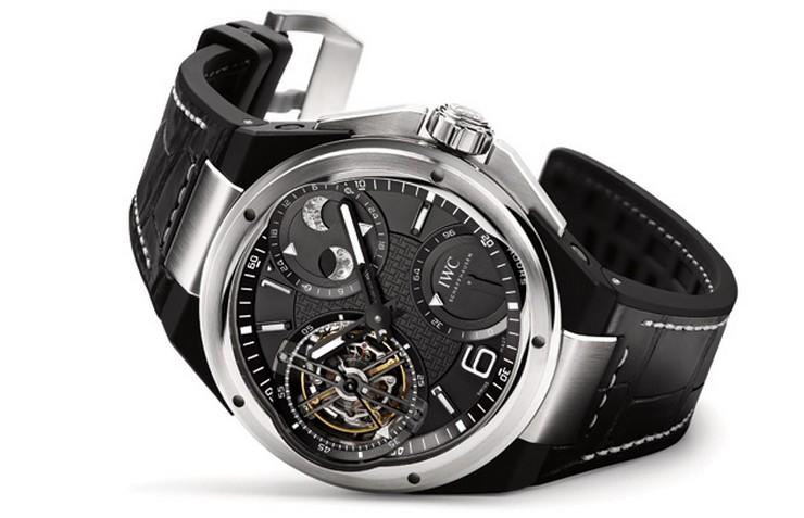 """""""La prestigiosa casa relojera IWC Schaffhausen, o simplemente IWC, lanza su renovada colección Ingenieur Watch.""""  Ingenieur Watch Collection, relojes de alta performance por IWC IWC Ingenieur Constant Force Tourbillon1"""