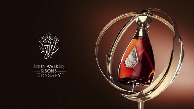 """""""Llega al continente americano la nueva mezcla de Johnnie Walker, el impresionante John Walker & Sons Odyssey.""""  Le presentamos el nuevo whisky John Walker & Sons Odyssey John Walker and Sons Odyssey whisky1"""