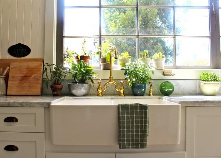 """""""Una vivienda de alquiler puede estar a la altura de una vivienda propia."""" Casa de Alquiler 5 Buenas Ideas para Decorar una Casa de Alquiler Plantas en la cocina"""