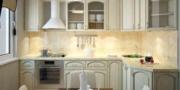 """""""Las cocinas pequeñas pueden ser tan cómodas, funcionales y parecer tan grandes como deseamos""""  Grandes Ideas para Decorar Cocinas Pequeñas. cocina puertas cristal"""