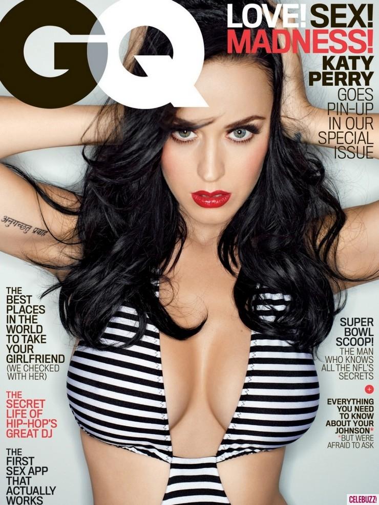 """""""Katy Perry enciende las páginas de la revista 'GQ'"""" Katy Perry muy explosiva en GQ febrero 2014 Cover Shoot katy perry GQ feb 2014 1"""