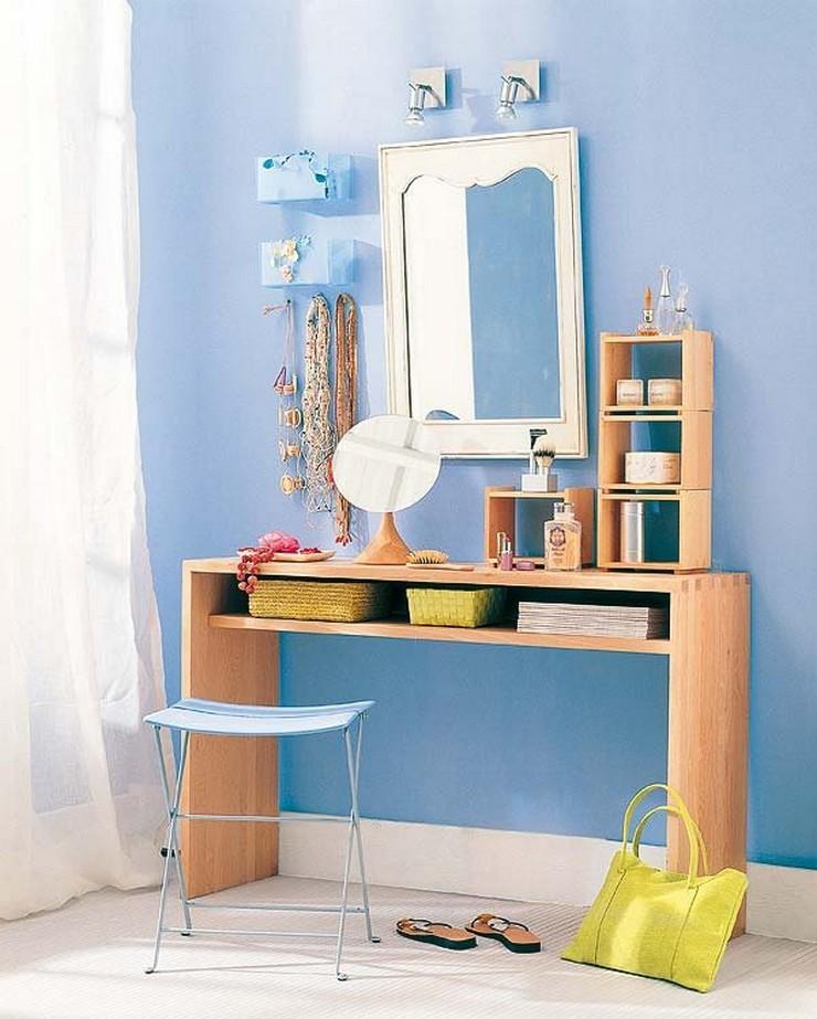 Ideas para decorar el dormitorio decorar una casa - Habitacion con tocador ...