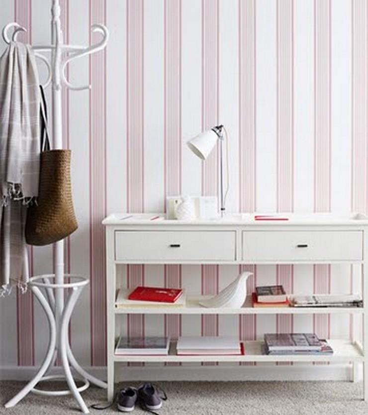 5 buenas ideas para decorar una casa de alquiler decorar - Papel pintado para entradas ...