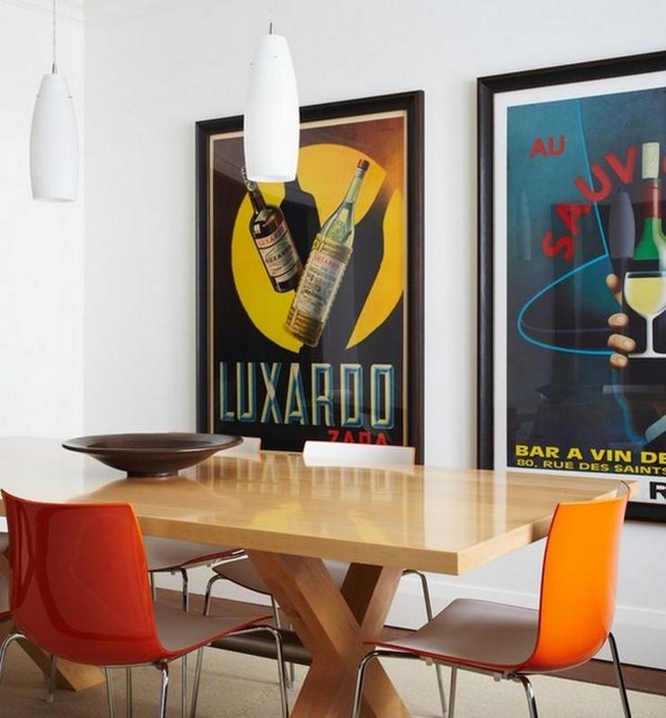 """""""Posters a gusto del consumidor y unos sencillos marcos negros para una pared llena de personalidad y de lo más atractiva""""  Las Paredes Vestidas, Mucho Más Atractivas: Arte Enmarcado o Framed Art 145"""