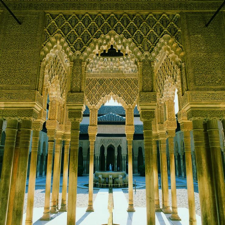 """""""La Alhambra, un ejemplo para el mundo del arte y la forma de vida del Islam en su época de máximo esplendor""""  La Alhambra de Granada, símbolo del esplendor de la antigua Al-Andalus 146"""