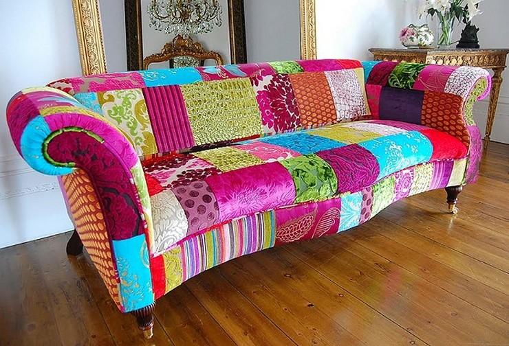 """""""Elegir el estampado de un sofá, de una alfombra, de los cojines o hasta de la ropa de cama puede llegar a ser decisivo para la decoración""""  Decorar con Diseños de Estampados a Todo Color 17"""