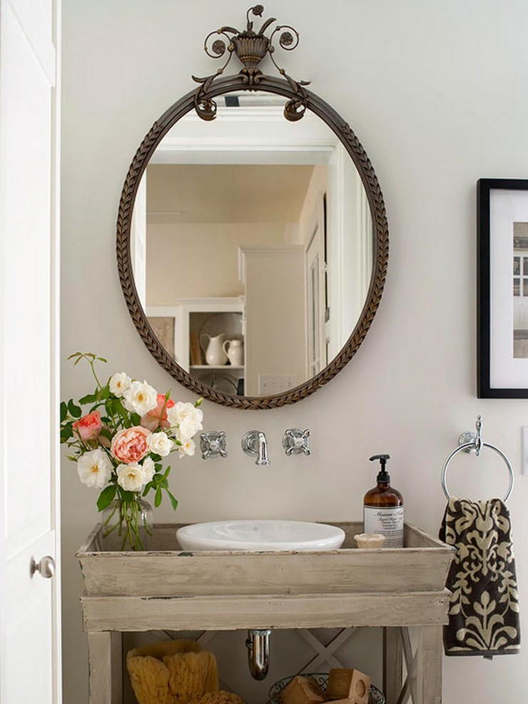 """""""Con pequeños cambios es posible decorar el baño y obtener un resultado satisfactorio con poco dinero""""  Guía para Decorar el Baño con Poco Presupuesto 233"""