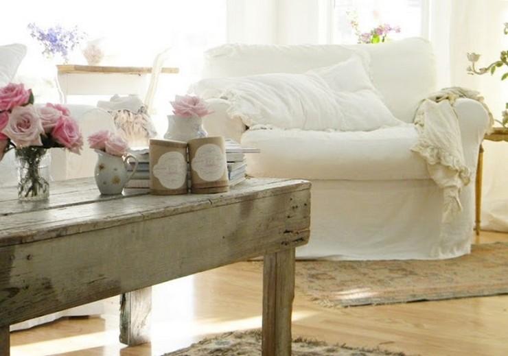 Estilo cottage espacios r sticos con un toque rom ntico - Casas estilo romantico ...