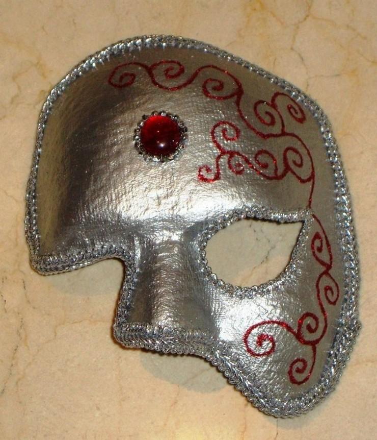 Como decorar una mascara imagui - Como hacer una mascara ...