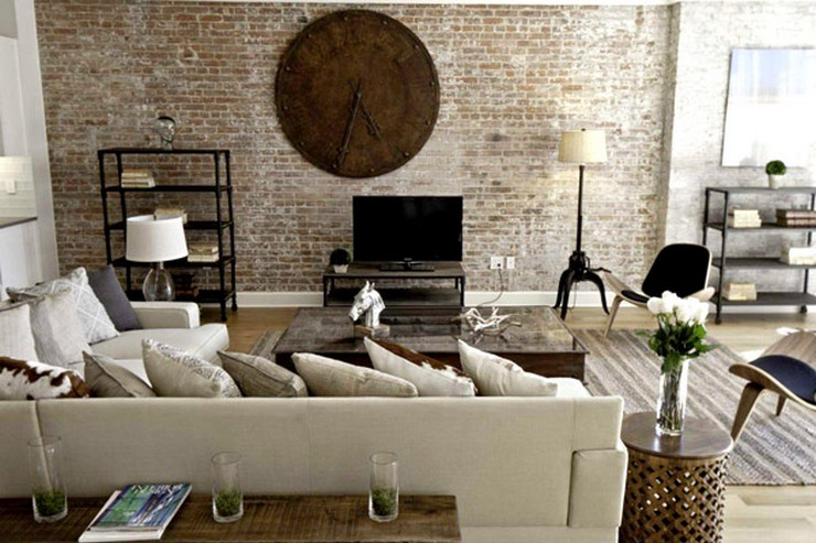 """""""Si estás pensando en cómo decorar un salón con estilo neoyorquino, queremos ayudarte con algunas ideas""""  Cómo Decorar un Salón con Estilo Neoyorquino 54"""