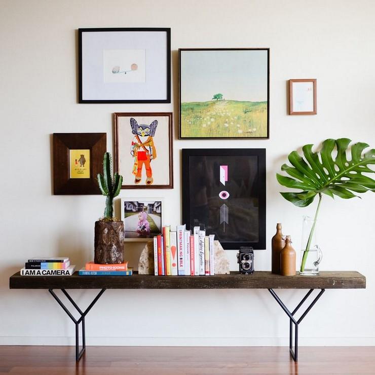 """""""Posters a gusto del consumidor y unos sencillos marcos negros para una pared llena de personalidad y de lo más atractiva""""  Las Paredes Vestidas, Mucho Más Atractivas: Arte Enmarcado o Framed Art 73"""
