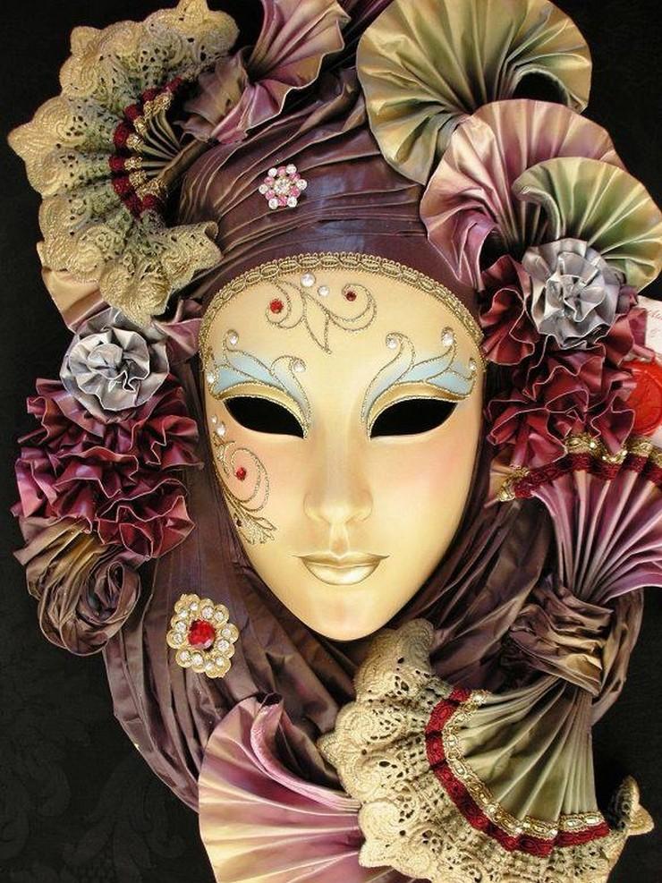 Ideas para Hacer y Decorar Máscaras de Carnaval Máscaras de Carnaval Ideas para Hacer y Decorar Máscaras de Carnaval 75