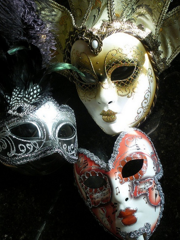 Ideas para Hacer y Decorar Máscaras de Carnaval Máscaras de Carnaval Ideas para Hacer y Decorar Máscaras de Carnaval 97