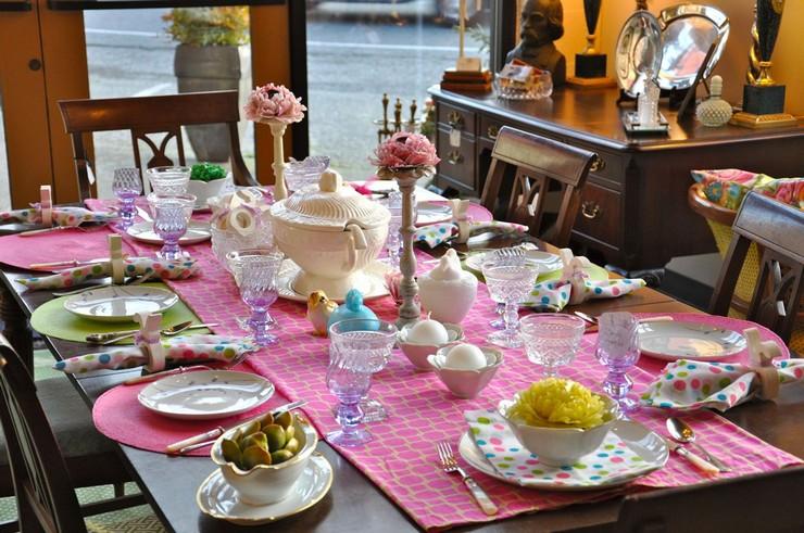 """""""Queremos mostraros algunas sencillas ideas para hacer un original centro de mesa para la época de Pascua.""""  Cómo decorar la mesa para Pascua Como decorar la mesa para Pascua 4"""