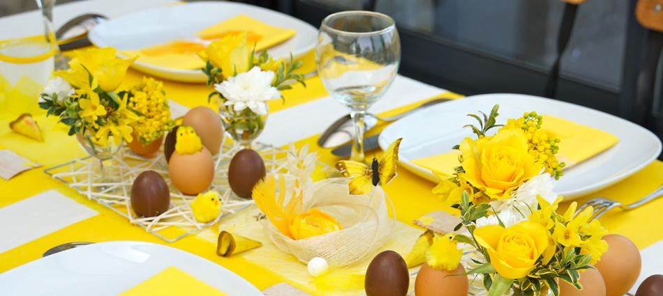 Cómo decorar la mesa para Pascua Como decorar la mesa para Pascua