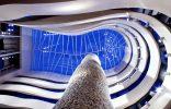 El diseño de los espacios interiores del Gran Hotel Domine Bilbao interiores silken gran domine bilbao 156x100