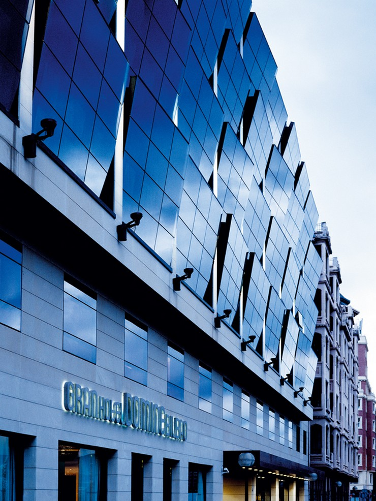 """""""El diseño de los espacios interiores del nuevo Gran Hotel Domine Bilbao es un proyecto de Estudio Mariscal.""""  El diseño de los espacios interiores del Gran Hotel Domine Bilbao interiores silken gran domine bilbao 2"""